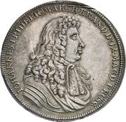 1 Thaler - Johann Friedrich (Death) – obverse