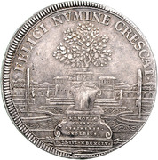 1 Thaler - Georg Friedrich II. (Start of reign) – reverse