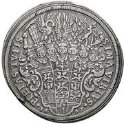 1 Thaler - Georg Friedrich II. – reverse