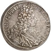 1 Thaler - Georg Friedrich II. – obverse
