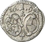 1 Pfennig - Georg Friedrich II – obverse