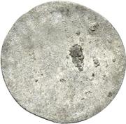 1 Pfennig - Karl Wilhelm Friedrich – reverse