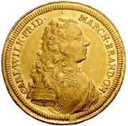 2 Ducat - Karl Wilhelm Friedrich (Accession) – obverse