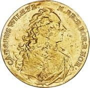 4 Ducat - Karl Wilhelm Friedrich Ansbach (Justice Board) – obverse