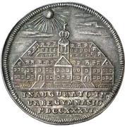 ¼ Thaler - Karl Wilhelm Friedrich (Gymnasium) – reverse