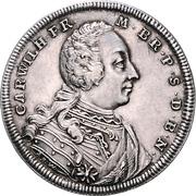 ½ Thaler - Karl Wilhelm Friedrich – obverse