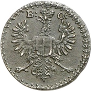 2 Pfennig - Karl Wilhelm Friedrich – obverse