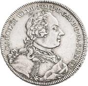 ⅔ Thaler - Karl Friedrich Wilhelm – obverse
