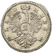 2 Kreuzer - Christian Friedrich Karl Alexander – reverse