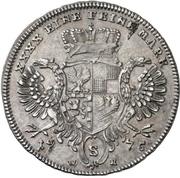 ¼ Thaler - Christian Friedrich Karl Alexander (1/4 Konventionstaler) – reverse