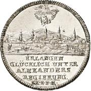 20 Kreuzer - Christian Friedrich Karl Alexander (Neustadt-Erlangen) – obverse