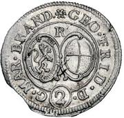 2 Kreuzer - Georg Friedrich II – obverse