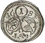 1 Pfennig - Johann Friedrich -  reverse