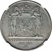 1 Gulden - Friedrich Wilhelm II – reverse
