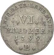 6 Kreuzer - Friedrich Wilhelm III – reverse