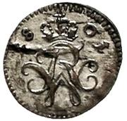 1 Pfennig - Friedrich Wilhelm III -  obverse