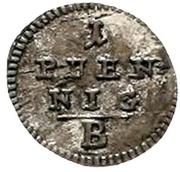 1 Pfennig - Friedrich Wilhelm III -  reverse