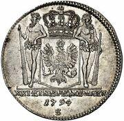 ⅔ Thaler - Friedrich Wilhelm II. – reverse