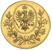 1 Ducat - Friedrich Wilhelm III (Fürstenzeche-Dukat) – obverse