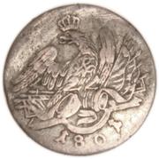 3 Kreuzer - Friedrich Wilhelm III – obverse