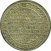 1/12 Thaler - Friedrich (Death of Georg Friedrich Karl) – reverse