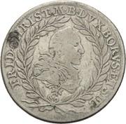 20 Kreuzer - Friedrich Christian – obverse