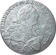 ⅙ Thaler - Friedrich – obverse