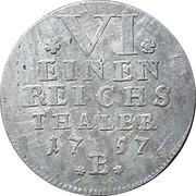 ⅙ Thaler - Friedrich – reverse