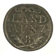 6 Pfennig - Friedrich Christian (Landmünze) – reverse