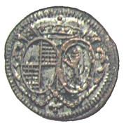 1 Pfennig - Friedrich – obverse