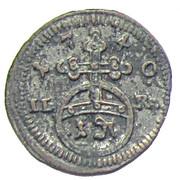 1 Pfennig - Friedrich – reverse