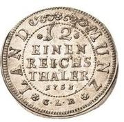 1/12 Thaler - Friedrich – reverse
