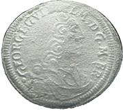 1 Kreuzer - Georg Wilhelm – obverse