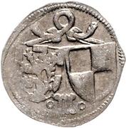 1 Pfennig - Johann IV. and Albrecht Achilles – obverse