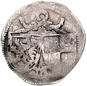1 Pfennig - Johann IV. und Albrecht Achilles – obverse