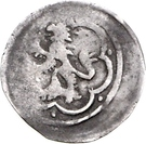1 Pfennig - Friedrich V. – reverse