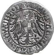 1 Schilling - Friedrich IV (Schwabach) – reverse