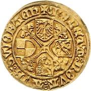 1 Goldgulden - Friedrich and Sigismund – reverse
