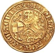 1 Goldgulden - Friedrich II. the Elder – reverse