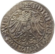 1 Schilling - Friedrich IV. the elder – reverse