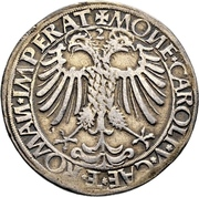 ½ Reichsguldiner -  Kasimir and Georg – reverse