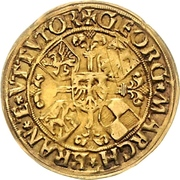 1 Goldgulden - Georg the Pious – obverse