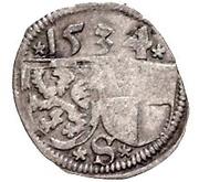 1 Pfennig - Georg the Pious – obverse
