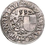 1 Batzen - Georg the Pious – obverse
