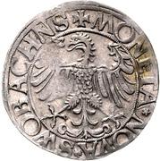1 Batzen - Georg the Pious – reverse