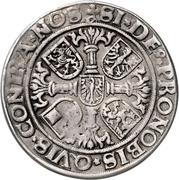 ½ Thaler - Albrecht the Young – reverse