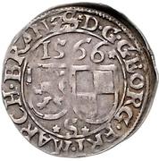 2 Kreuzer - Georg Friedrich von Ansbach – obverse