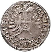 2 Kreuzer - Georg Friedrich von Ansbach – reverse