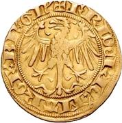 1 Goldgulden - Friedrich I. Margrave of Brandenburg – obverse