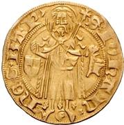 1 Goldgulden - Friedrich I. Margrave of Brandenburg – reverse